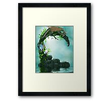 Dragon Games Framed Print