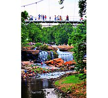 Fun At The Falls Photographic Print