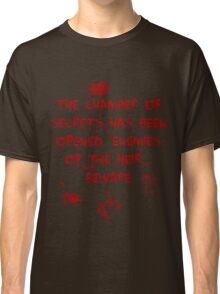 The Chamber of Secrets has been opened... Classic T-Shirt