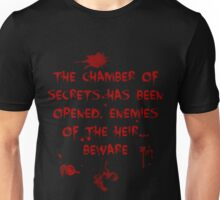 The Chamber of Secrets has been opened... Unisex T-Shirt