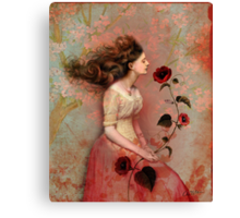 Blooming scent Canvas Print