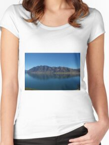 Kiwi Reflection Women's Fitted Scoop T-Shirt