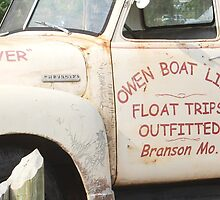 old truck at branson, mo by SusieG