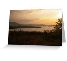 Glorious African sunsets Greeting Card