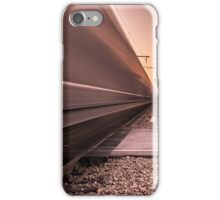 Train is passing fast iPhone Case/Skin