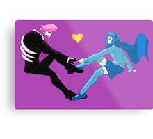 Lewis and Vivi Metal Print