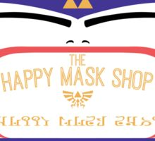 Happy Mask Shop Sticker