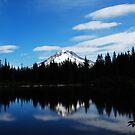 Mirrored Mt. Hood by JosephClayton