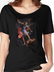 Archangel Michael by Guido Reni Women's Relaxed Fit T-Shirt