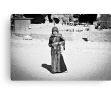 Jordanian Girl Canvas Print