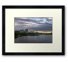 Ottawa landscape - HDR Framed Print