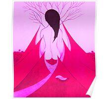 Enchantress Pink Poster