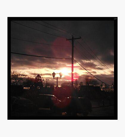 Suburban Light Photographic Print