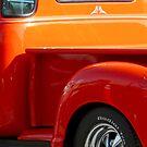 shiny orange pickup by tego53