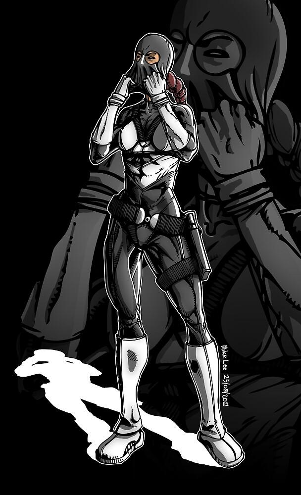 Vigilante Girl by Michael Lee