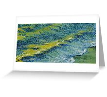 Wetted Walk Greeting Card
