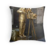 Golden age of movies Throw Pillow