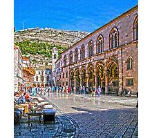 Walled City - Dubrovnik Photographic Print