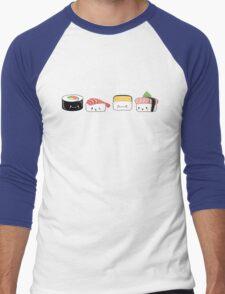 Sushi Buddies Men's Baseball ¾ T-Shirt