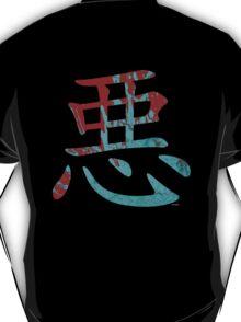Aku Red & Blue Kanji T-Shirt