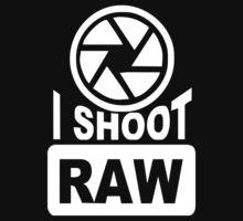 I Shoot Raw Photography Camera Photograph by Kurni4Kabo
