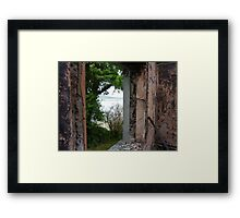 Beauty and destruction # 2 Framed Print