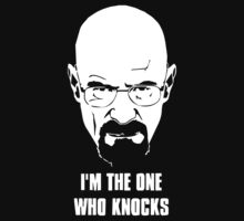 I Am The One Who Knocks Walter White Breaking Bad Heisenberg by Kurni4Kabo