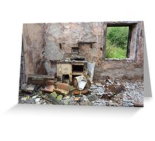 Beauty and destruction # 3 Greeting Card