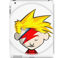 Calvin Flash Style iPad Case/Skin