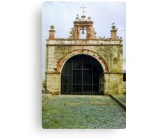 Christ Chapel, Old San Juan  Canvas Print