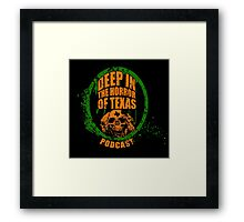 Deep in the Halloween of Texas Podcast Framed Print
