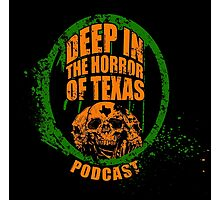 Deep in the Halloween of Texas Podcast Photographic Print