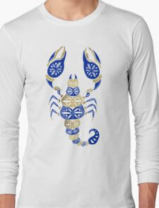Scorpion – Navy & Gold Long Sleeve T-Shirt