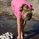 Tadpole Spotting at Noble Falls by tarynb