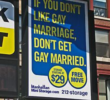 Gay Marriage in New York City by michael6076