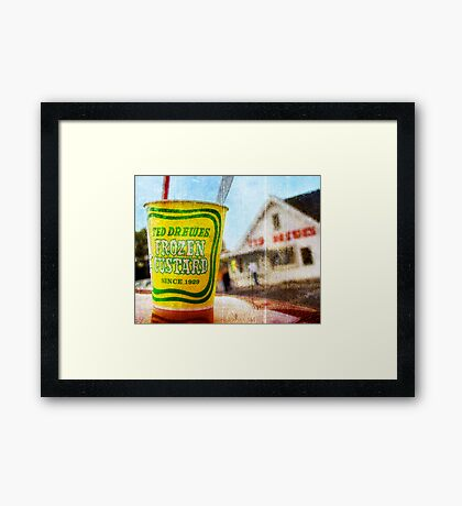 Route 66 - Ted Drewes Frozen Custard Framed Print