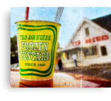 Route 66 - Ted Drewes Frozen Custard Canvas Print