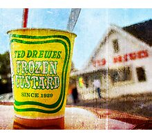 Route 66 - Ted Drewes Frozen Custard Photographic Print