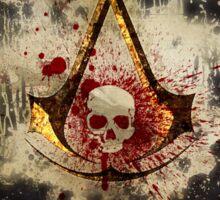 Assassin of the Caribbean Sticker