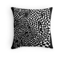 System Warp Throw Pillow