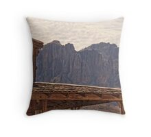Superstitions from Goldfield HDR Throw Pillow