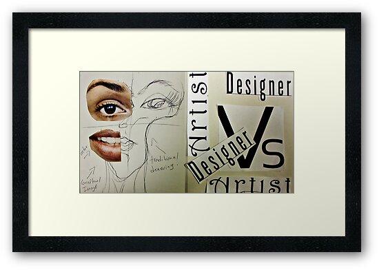Artist Vs Design 01 by Christina Rodriguez