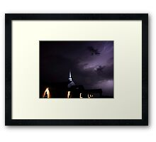 Gateway To The Heavens Framed Print