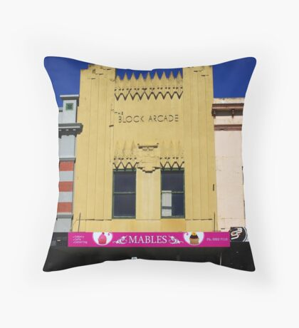 30s Ambience Throw Pillow