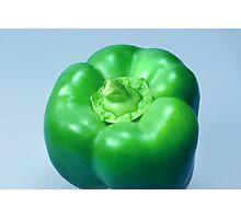 Green Pepper Photographic Print