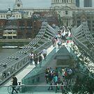 MILLENNIUM BRIDGE LONDON by scarletjames