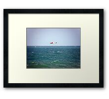 Rescue Framed Print