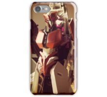 Red Alert Portrait iPhone Case/Skin