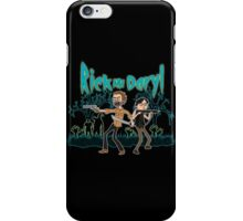 Rick and Daryl iPhone Case/Skin