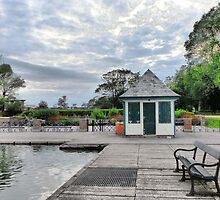 The Boating Lake Kiosk. by Lilian Marshall